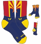 Swiftwick Arizona State Flag Socks