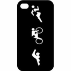 Tri Figure iPhone Case - 4/4g