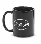 Triathlete Figures Ceramic Triathlon Coffee Mug
