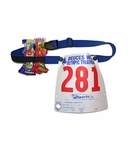TriSports.com Race Number Gel Belt