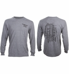 TriSports.com Unisex Word Cloud Long Sleeve T-shirt