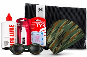 TYR CAMO Swim Essentials Kit