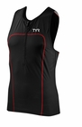 TYR Men's Carbon Tank With Zipper