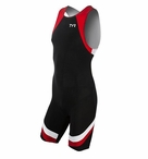 TYR Men's Carbon Zipper Back Short John