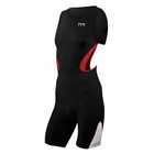 TYR Men's Carbon Zipper Back Short John w/pad