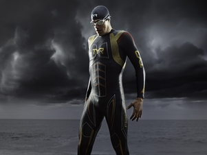TYR Men's Hurricane Freak of Nature Triathlon Wetsuit