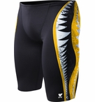 TYR Men's Shark Bite Jammer Swimsuit