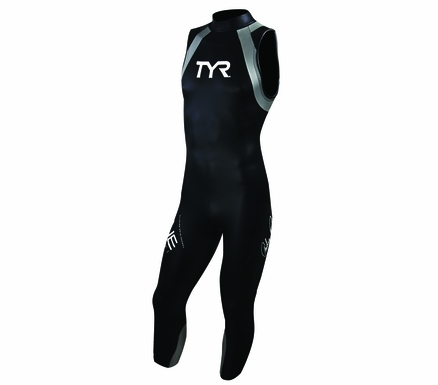 TYR Men's Sleeveless Hurricane Triathlon Wetsuit Category 1
