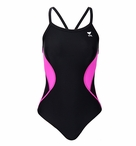 TYR Pink Splice 1 Piece