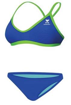 TYR Durafast Elite Solid Crossfit Workout Bikini