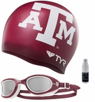 TYR Texas A&M Swim Kit