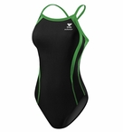 TYR Women's Alliance Durafast Splice Swimsuit