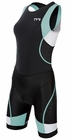 TYR Women's Competitor Trisuit with Back Zipper