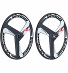 Vision Metron Tri-Spoke Carbon Wheelset | Tubular