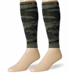 Zensah DeZign Camo Compression Leg Sleeves