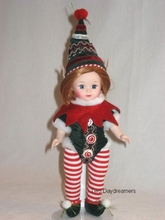 "8"" HOLIDAY CHEERS ELF"