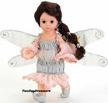 """8"""" PINK SPARKLE DRAGONFLY FAIRY"""