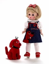 """8"""" WENDY LOVES CLIFFORD THE BIG RED DOG"""