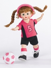 """8"""" WENDY PLAYS SOCCER"""