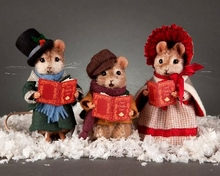 CHRISTMAS MICE COLLECTION - click here