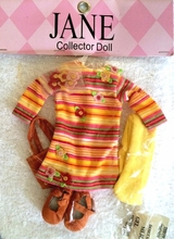 "FASHIONABLY SUNNY - outfit for 14"" dolls"