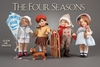THE FOUR SEASONS - 4 doll set - RJW*