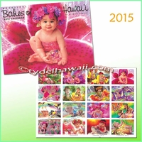 Babies of Hawaii 2015 Calendar - 16 months