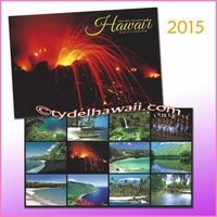 The Big Island 2015 Hawai'i Calendar