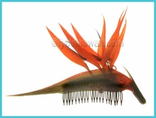 Bird of Paradise Hair Comb