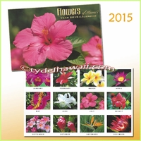 Flower of Hawaii 2015 Calendar
