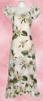 Garden Orchid Hawaiian Island Dress