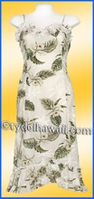 Girl Halau Dress - 413White