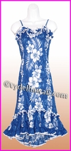 Girl Halau Dress - 805Navy