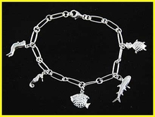 Girl Solid Silver Bracelet - Style 004