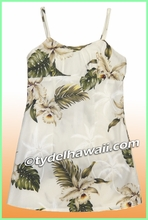 Girl Sun Dress - 413White