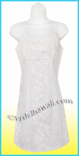 Girl White Sun Dress - 213White