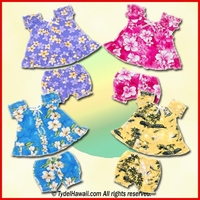 Hawaiian Baby Doll Sets