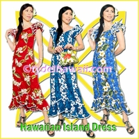 Hawaiian Island Dress