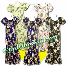 Hawaiian Muumuu Full Length - 403