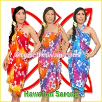 Hawaiian Pareo Sarongs