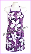 Hawaiian Apron - 153Purple