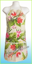 Hawaiian Print Apron - 123Cream
