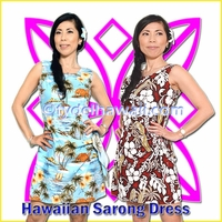 Hawaiian Sarong Dress - R