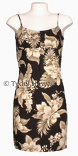 Hawaiian Sun Dress - Black