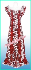 Hawaiian Island Dress - 213Red