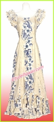 Hawaiian Island Dress - 805Cream