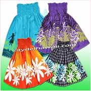 Hula Pa'u Skirt - Poly/Cotton