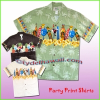 Party Luau Shirts