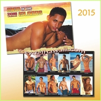 Men of the Islands 2015 Calendar