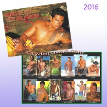 Men of the Islands 2016 Calendar